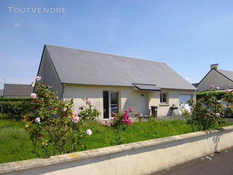 Maison de plain pied 4 pieces - granville - 83.25 m²