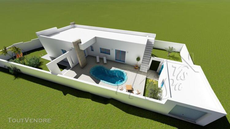 Programme neuf villa plain pied avec piscine