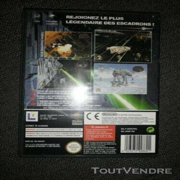 Star wars rogue leader complet nintendo game cube