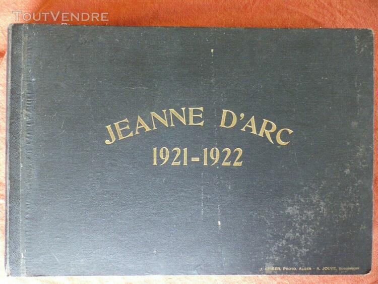 Voyage de la jeanne d'arc-1921-1922 album photo