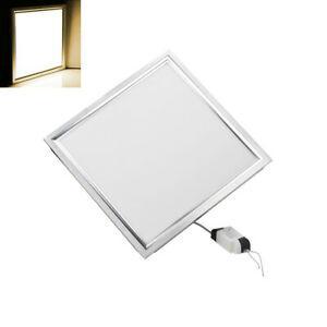 Panneau led 30x30cm plafonnier 12w plafond éclairage