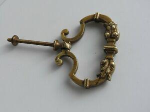 poignee de tiroir porte en bronze meuble ancien commode