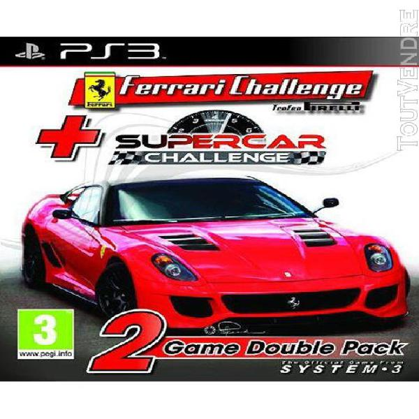 Racing double pack: ferrari challenge + supercar challenge