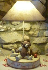 Country corner - lampe - 2 ours + boite - teddy - bear -
