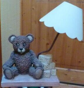 Country corner - lampe - ours - cubes - teddy - bear -
