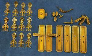 Ensemble paul sormani poignées de porte, plaques propreté,