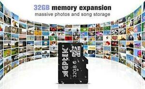 Agptek® 32 go classe 10 carte micro sd avec lecteur de 32gb