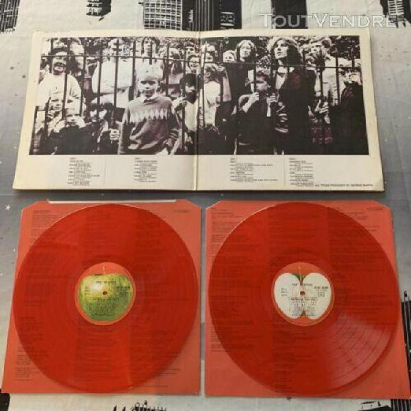 Beatles 1962 - 1968 limited edition red rouge vinyl excelle