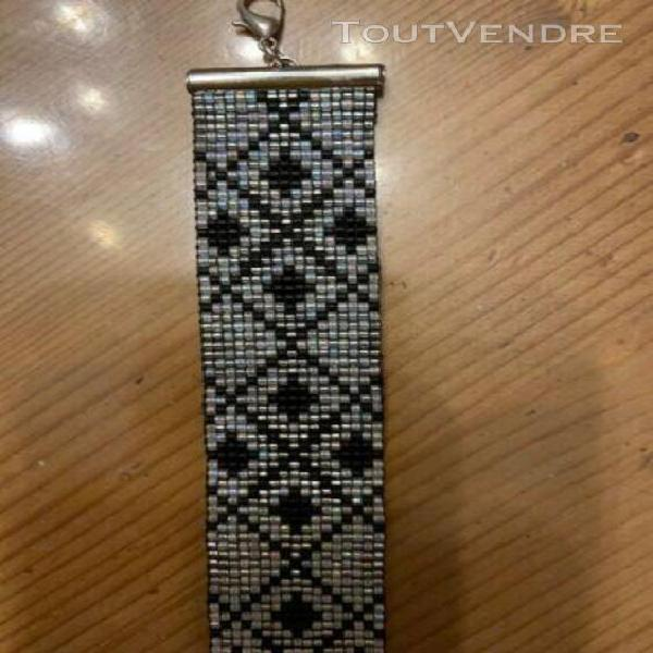 Bracelet manchette neuf perles miyuki