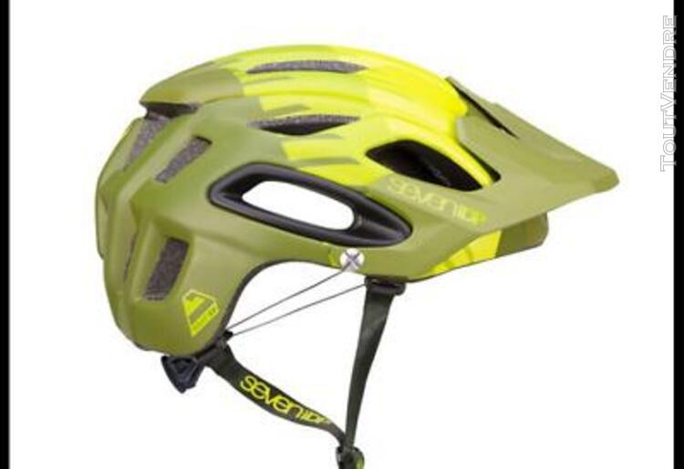 Casque seven m2 lime 2019 md/lg