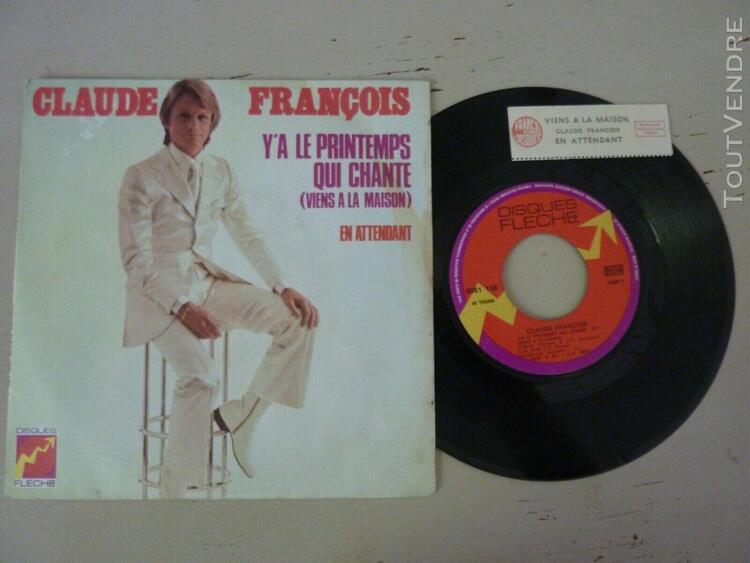 Claude francois sp avec etiquette juke box
