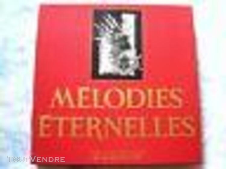 Coffret 10 disques 33 tours: melodies eternelles en très bo