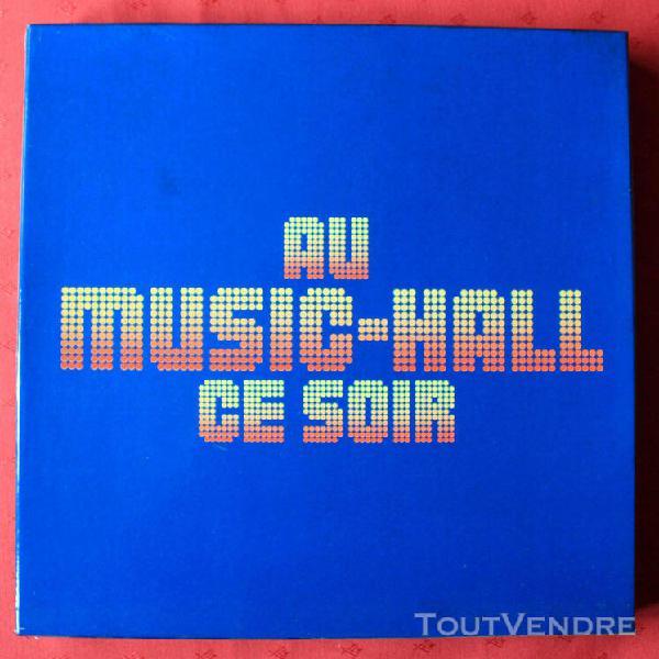 Coffret de 10 disques — au music - hall ce soir,