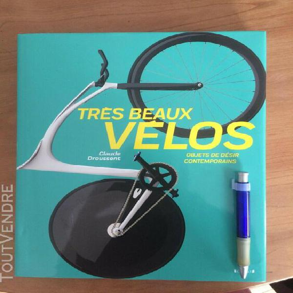 Livre tres beaux velos, claude droussent editions grund