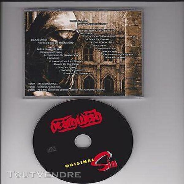 Original sin / deathwish cd sin will find you out / at the