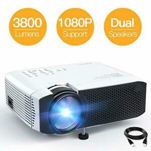 Projecteur apeman 3800 lumens mini vidéoprojecteur 1080p
