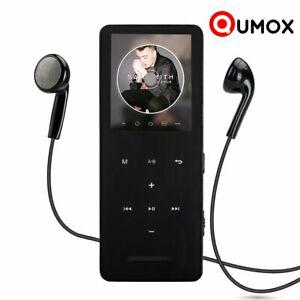 Qumox 8gb lecteur mp3 player music agrafe + ecouteurs +