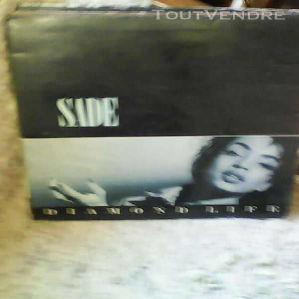 Sade diamond life lp 33t vinyle original 1984 26044