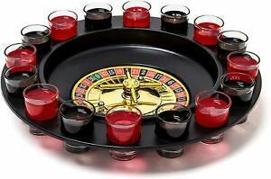 Relaxdays 10010182 jeu de roulette à boire roulette russe