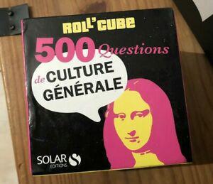 Roll'cube 500 questions culture générale knowledge