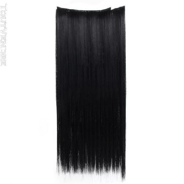 7pcs longs cheveux complets clip extensions de cheveux 56cm