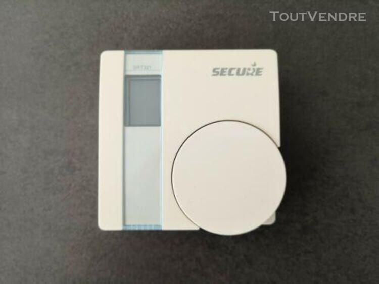Pack secure srt322 - thermostat srt321 + relai ssr303