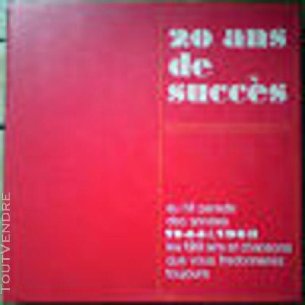 20 ans de succes (1944-1963) (yvette giraud..) (rca) (coffre