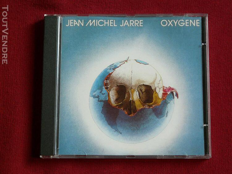 Cd jean michel jarre - oxygene (1976)