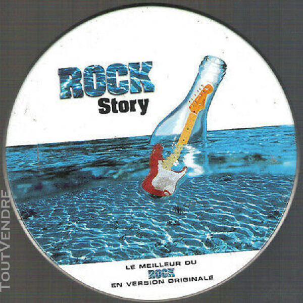 """Cd """"rock story"""" boitier métallique"""