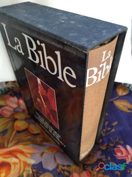 Coffret bible+ vie de jésus+bible de jérusalem