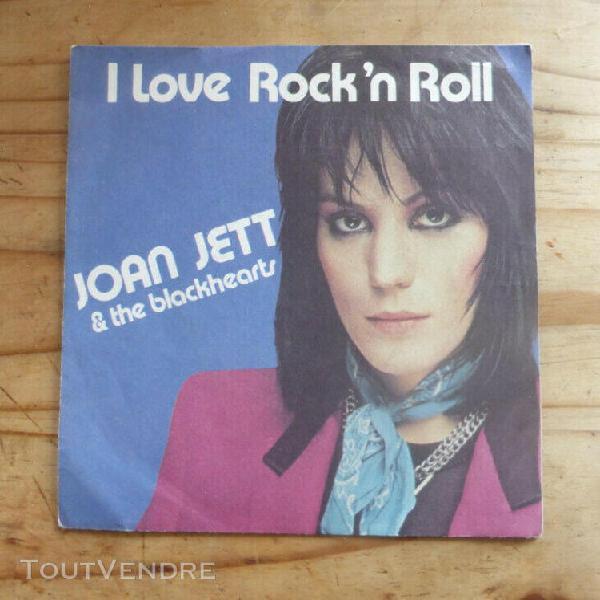 """Joan jett """"i love rock'nroll"""" 45t / livraison en lettre suiv"""