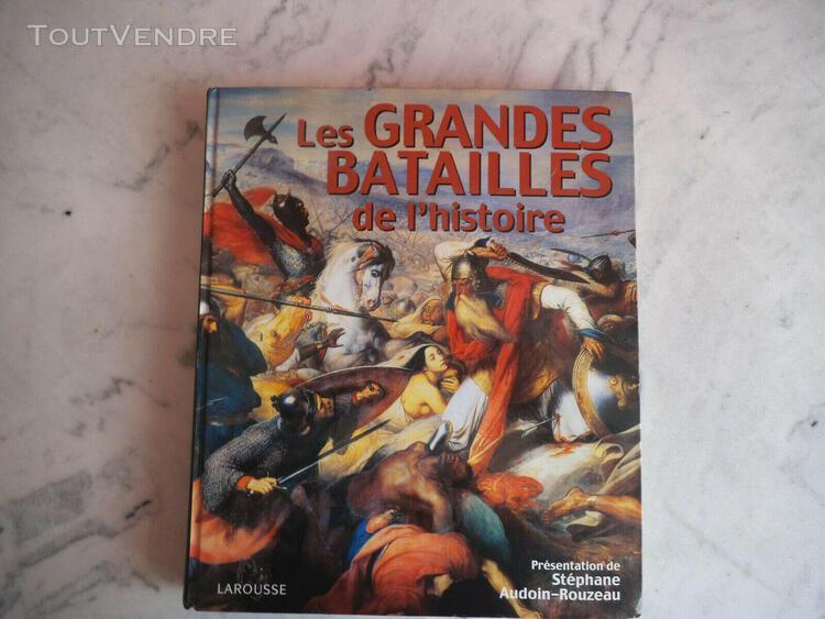 Livre sur les grandes batailles de l'histoire