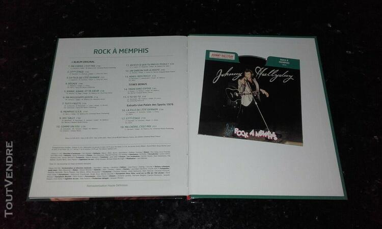 "Rare cd collector illustre ""johnny hallyday "" album rock"
