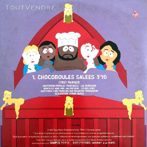 South park cd single chocoboules salées - promo - france