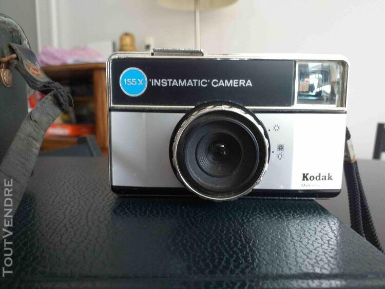 Caméra kodak instamatic caméra 155x, 43mm, made in
