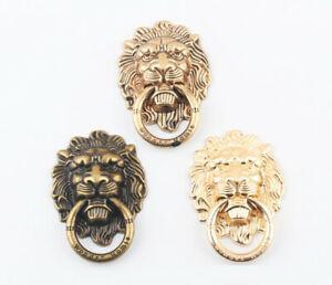Hessy 360 degrés tête de lion anneau de doigt en métal
