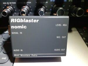 Interface modes numeriques rigblaster nomic