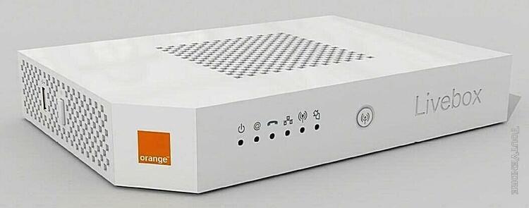 Livebox 2 orange bon état - envoi sous 48 heure