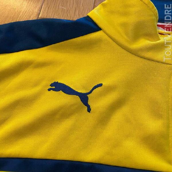 Puma arsenal fc football anthem jacket yellow / blue small m