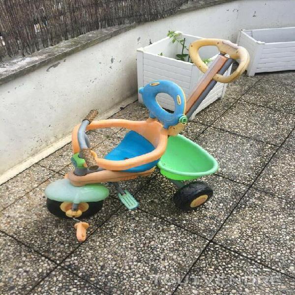 Smart trike tricycle évolutif baby driver de 10 mois à 3