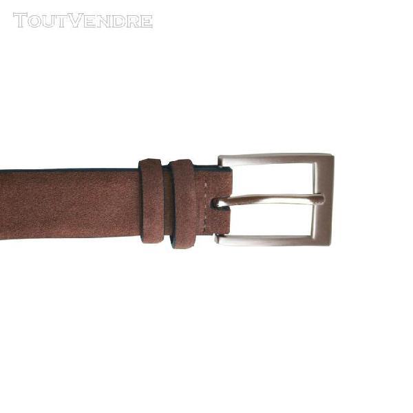 Eastern counties leather - ceinture en daim - femme (marron)