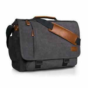 """Estarer sacoche ordinateur portable 17-17,3"""" en toile sac"""