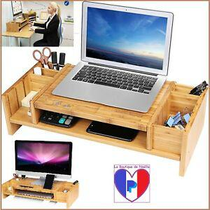 Support table rehausseur d'ordinateur pc ecran tv en