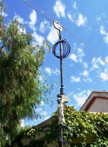 antenne cb 27 mhz 1/2 onde, avec mat et rotor