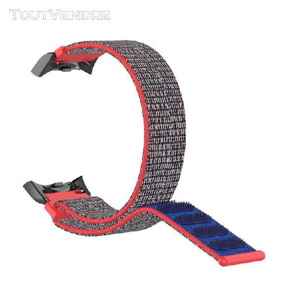 Madkanao bracelet connecté 1404 courroie en nylon de