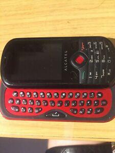 Portable alcatel one touch 606 rouge desimlocke