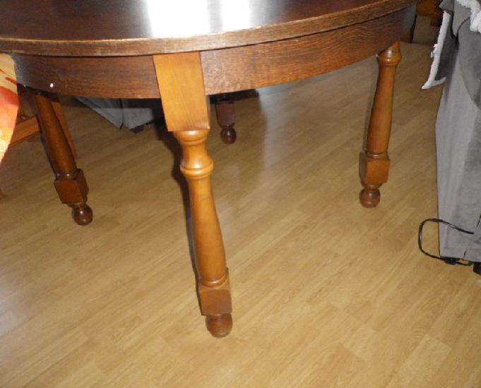 Table ronde ou ovale