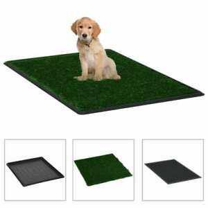 Toilette pour animaux avec plateau et gazon artificiel vert
