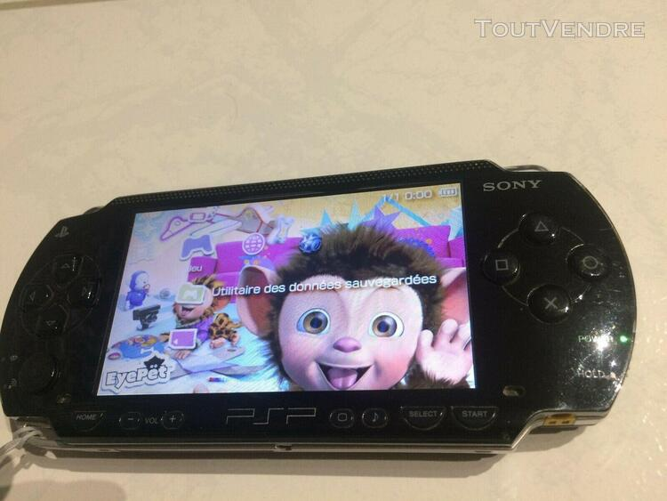 Console sony psp (18 jeux)