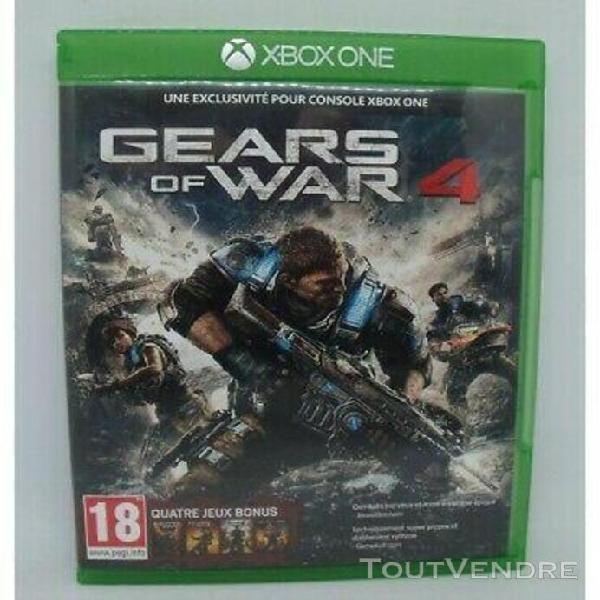 Gears of war 4 sur xbox one sans notice